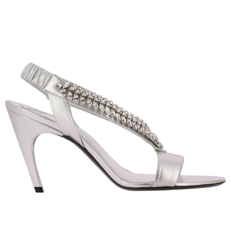 Heeled sandals Roger Vivier: Shoes women Roger Vivier silver 1