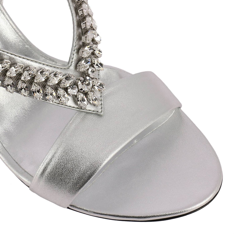 Heeled sandals Roger Vivier: Shoes women Roger Vivier silver 3