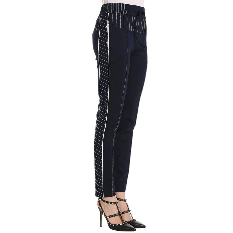 Pantalon femme Valentino bleu 2