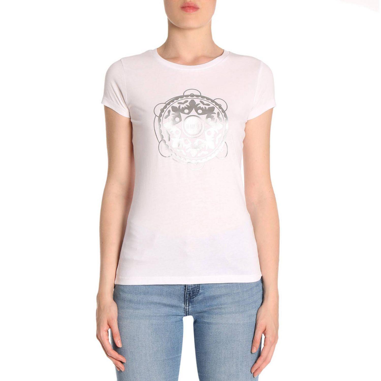 T-shirt women Ni Ma Bi white 1