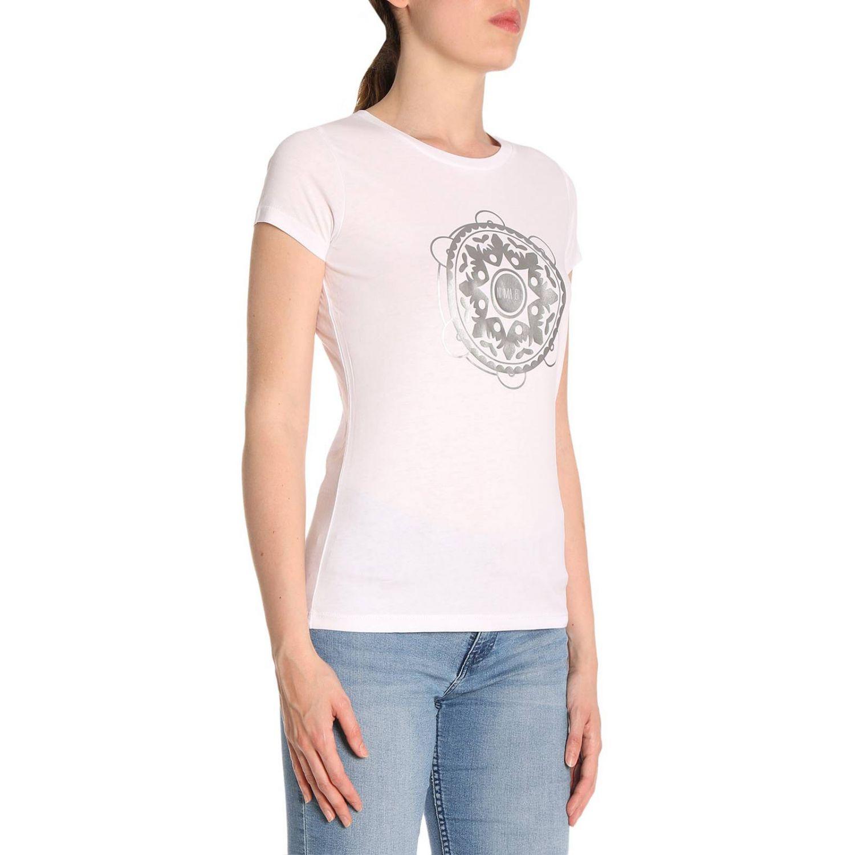 T-shirt women Ni Ma Bi white 2