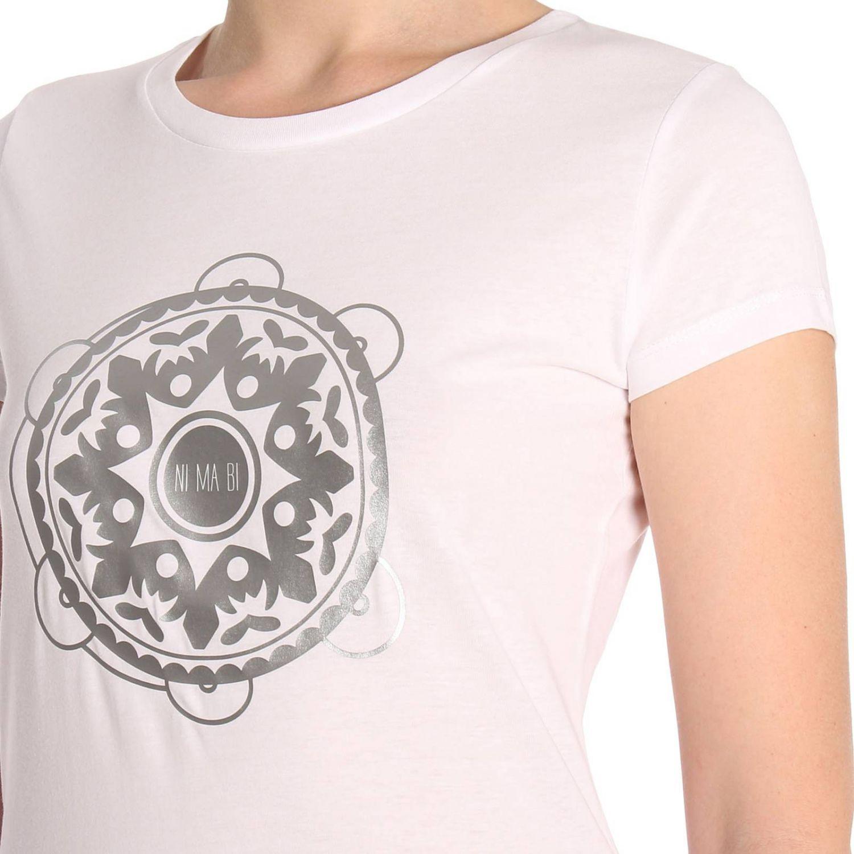 T-shirt women Ni Ma Bi white 4