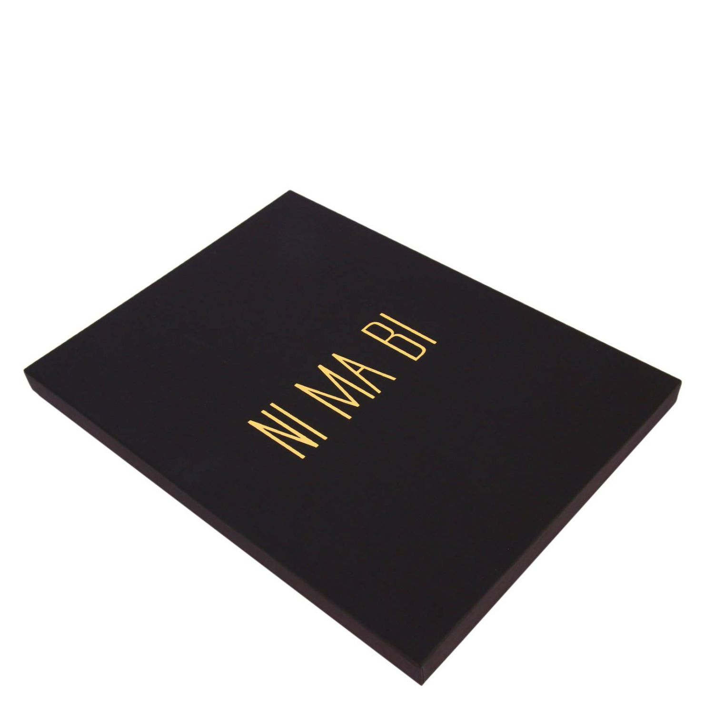 T-shirt Ni Ma Bi: T-shirt in puro cotone a maniche corte con stampa Scipio bianco 5