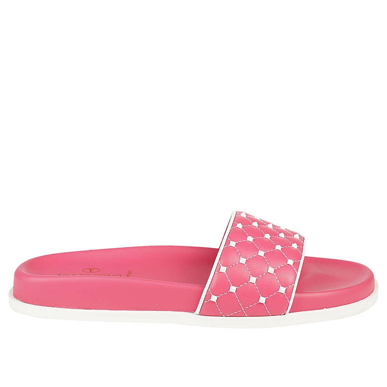 Flat Sandals Shoes Women Valentino Garavani 8418172