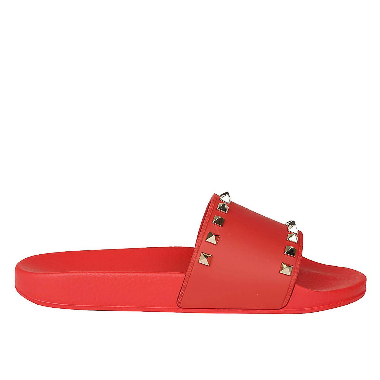Flat Sandals Shoes Women Valentino Garavani 8446162