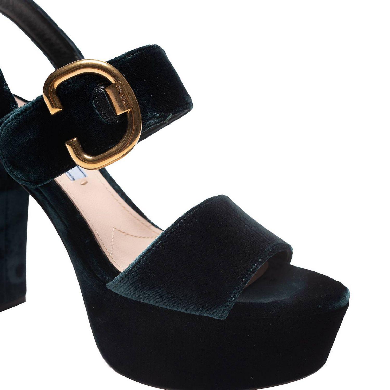Shoes women Prada green 3