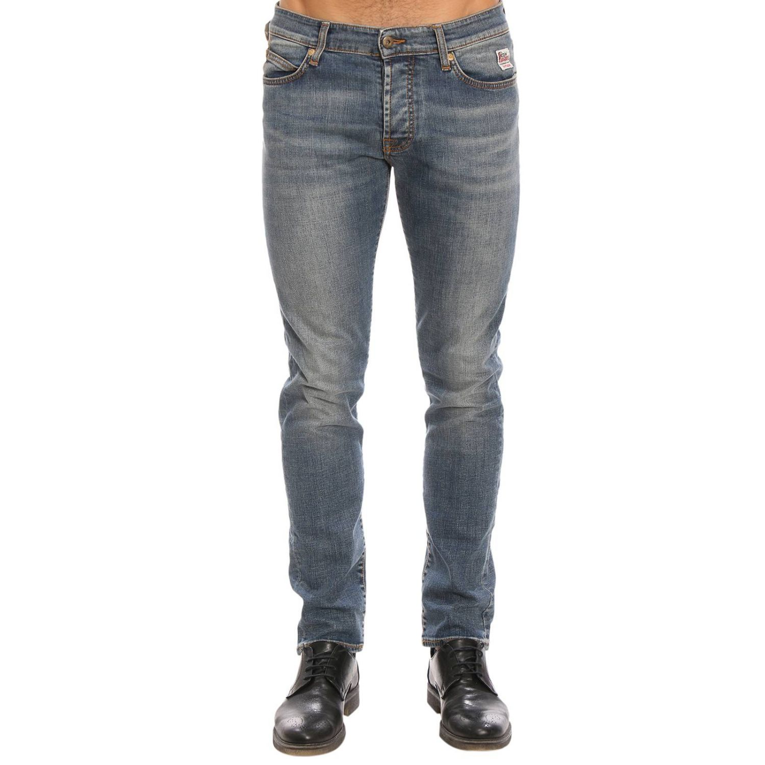 Jeans hombre Roy Rogers azul oscuro 1
