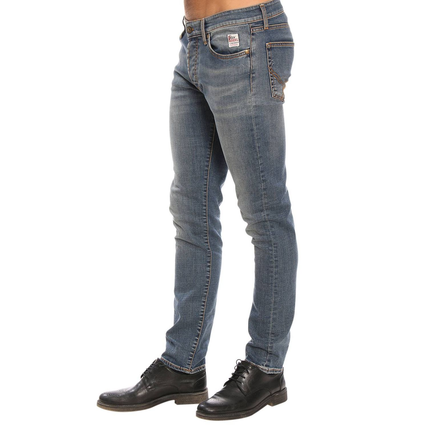 Jeans hombre Roy Rogers azul oscuro 2