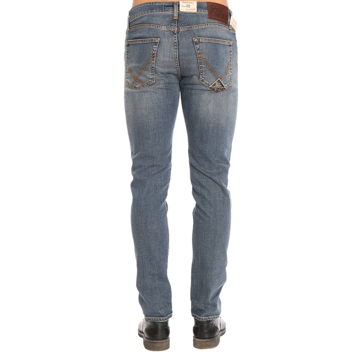 Jeans hombre Roy Rogers azul oscuro 3