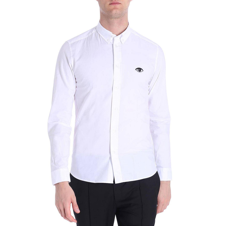 Chemise homme Kenzo blanc 1