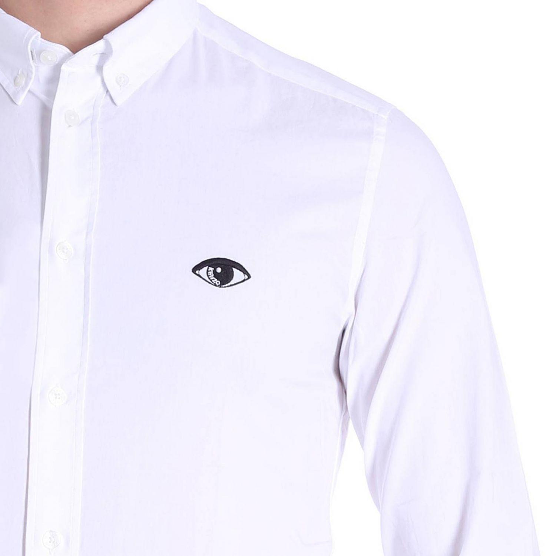 Chemise homme Kenzo blanc 4