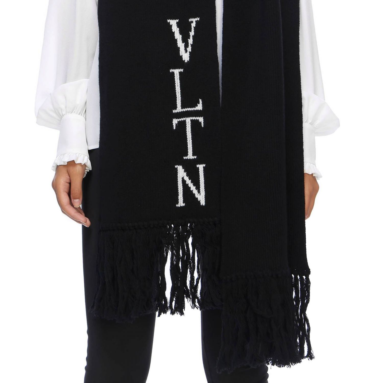 Écharpe Valentino Garavani: écharpe femme Valentino Garavani noir 2