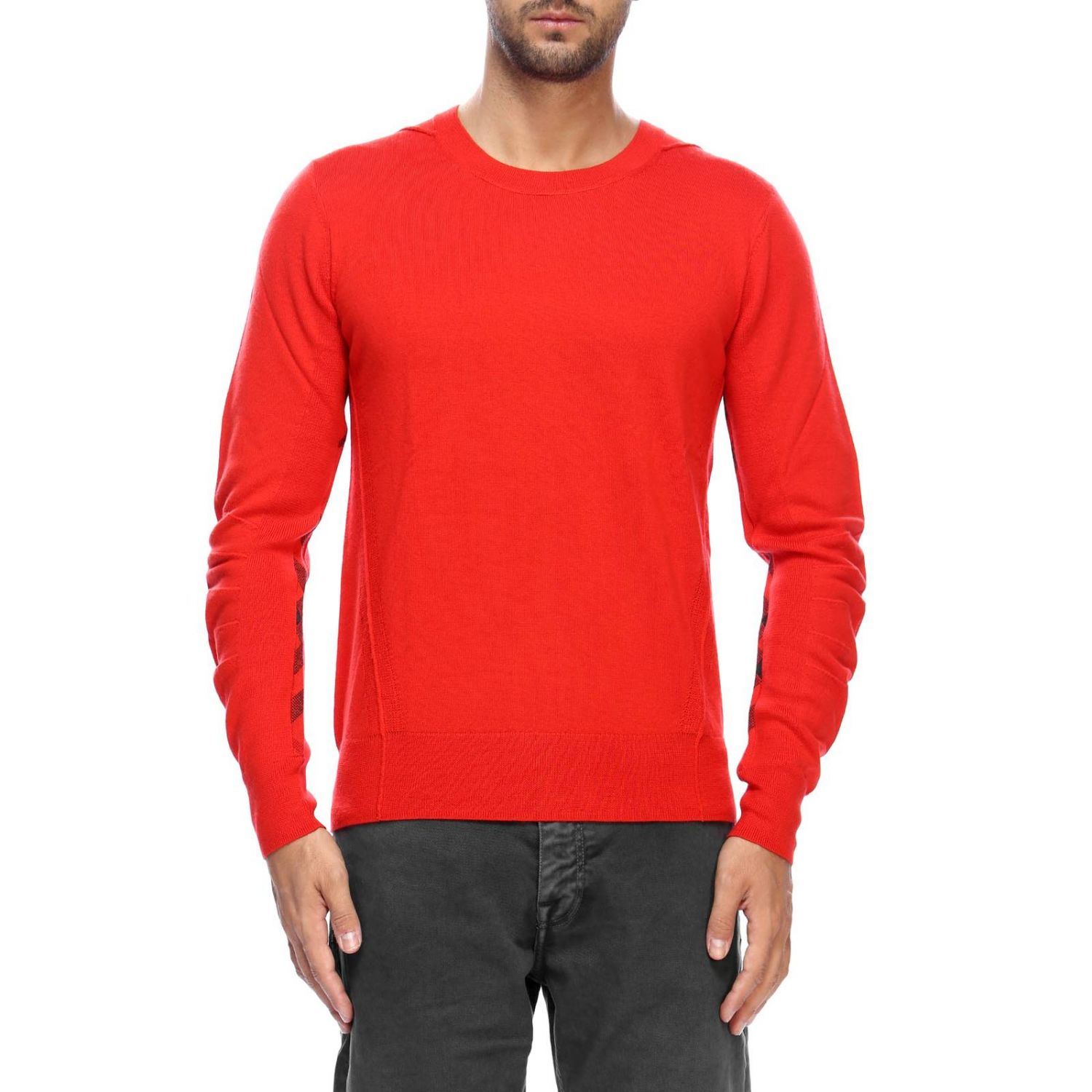 Sweater men Burberry red 1