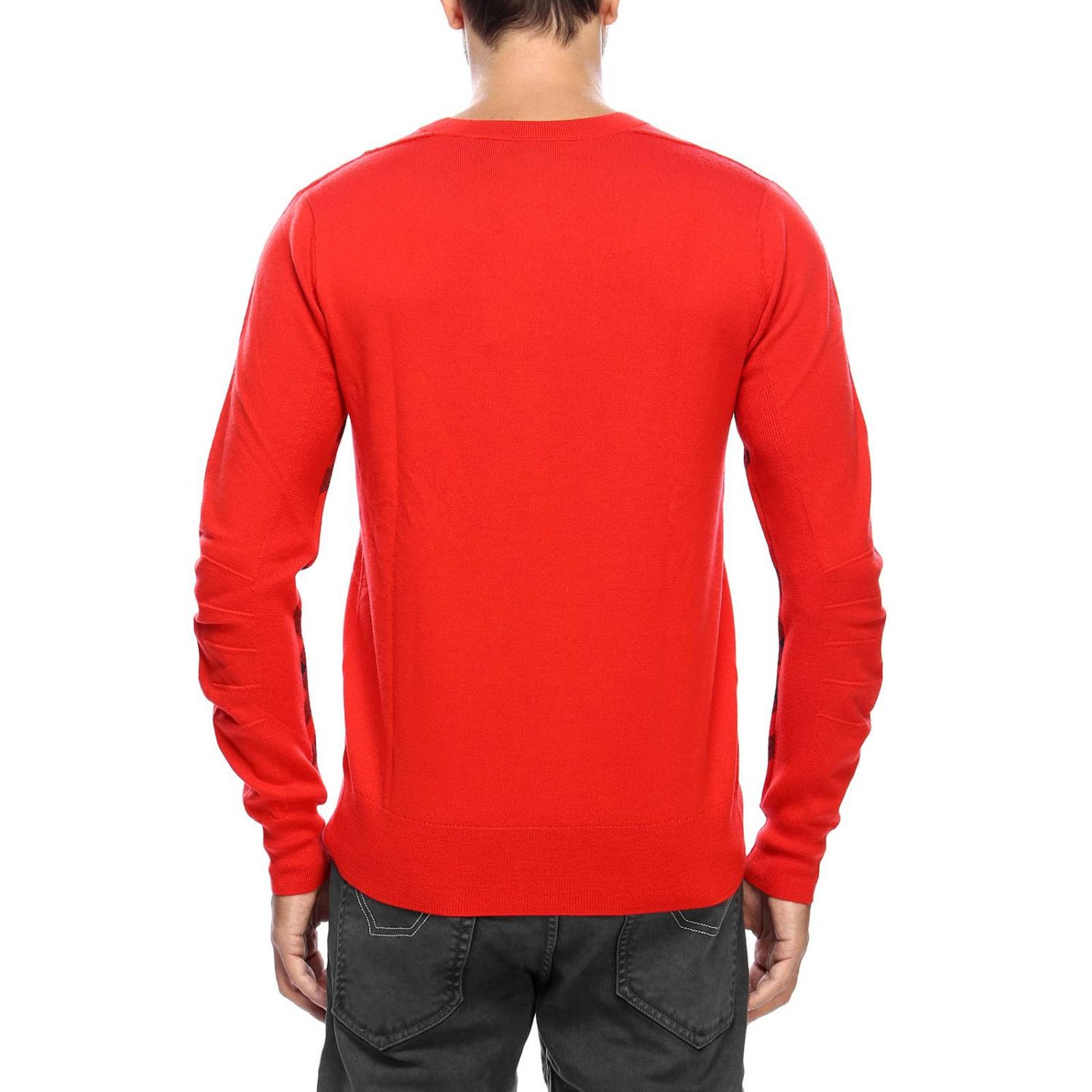 Sweater men Burberry red 3