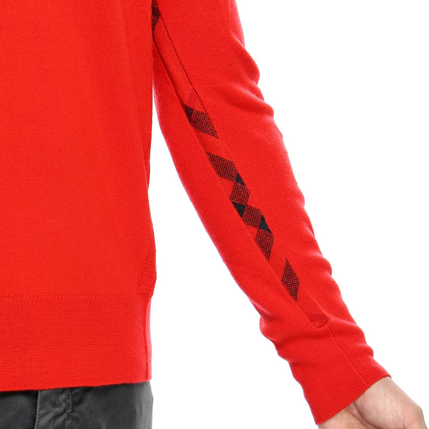 Sweater men Burberry red 4