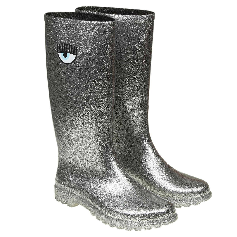 Boots Chiara Ferragni: Boots women Chiara Ferragni silver 2
