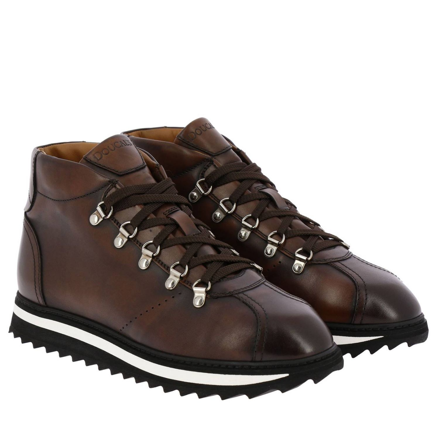 Shoes men Doucal's ebony 2