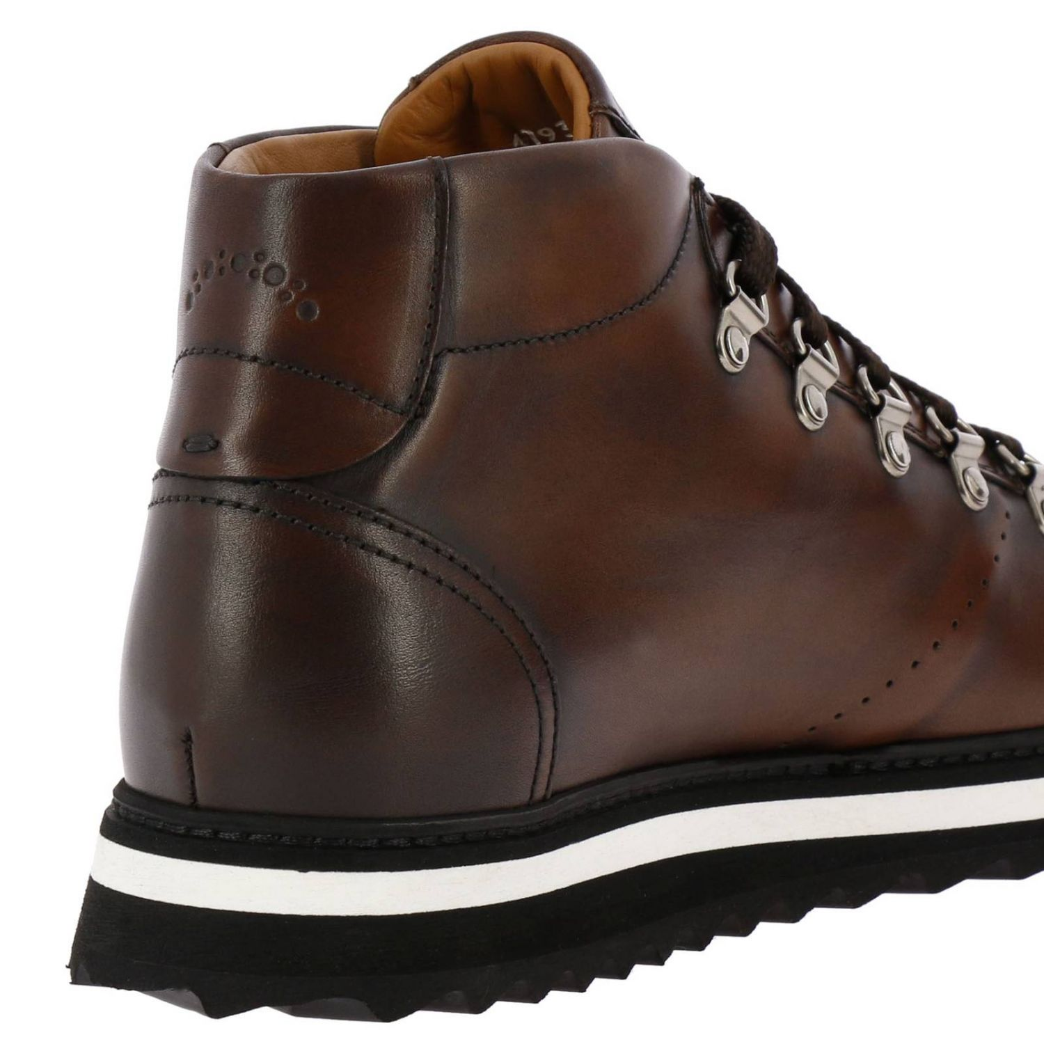 Shoes men Doucal's ebony 4