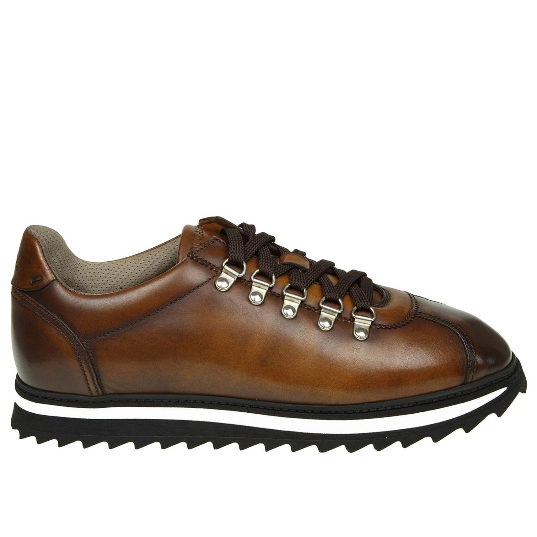 Sneakers Doucal's: Sneakers men Doucal's ebony 1