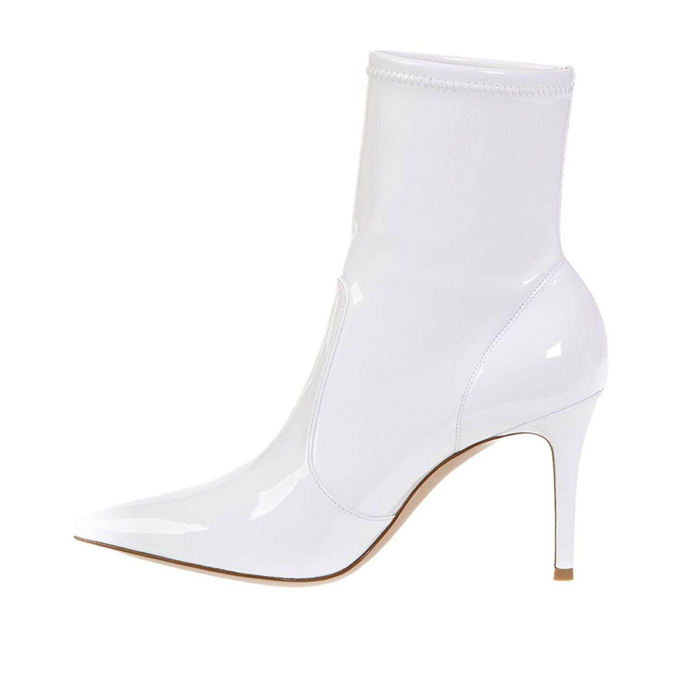 靴子 Gianvito Rossi: 靴子 女士 Gianvito Rossi 白色 4