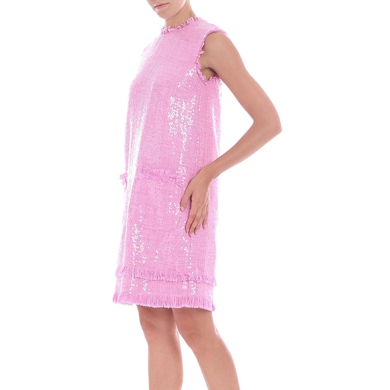 Robes Msgm: Robes femme Msgm rose 2