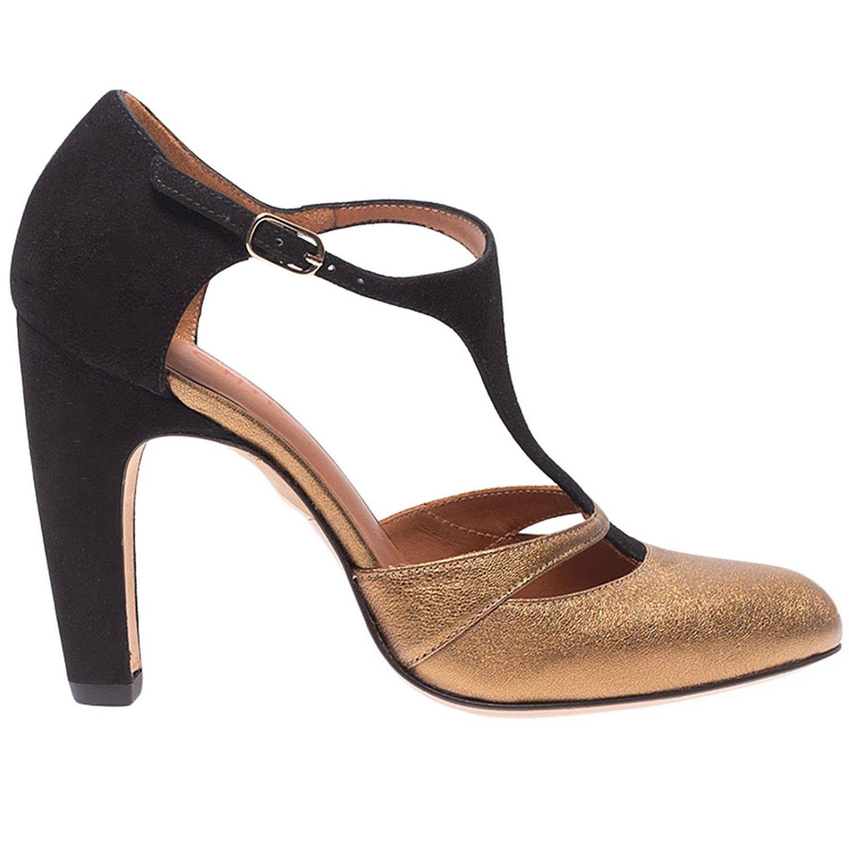 Туфли на каблуке Chie Mihara: Обувь Женское Chie Mihara золотой 1