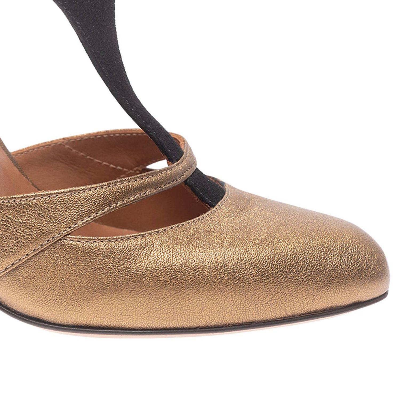 Туфли на каблуке Chie Mihara: Обувь Женское Chie Mihara золотой 3