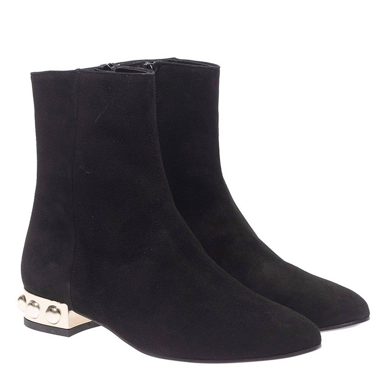 Bottines plates Marc Ellis: Chaussures femme Marc Ellis noir 2