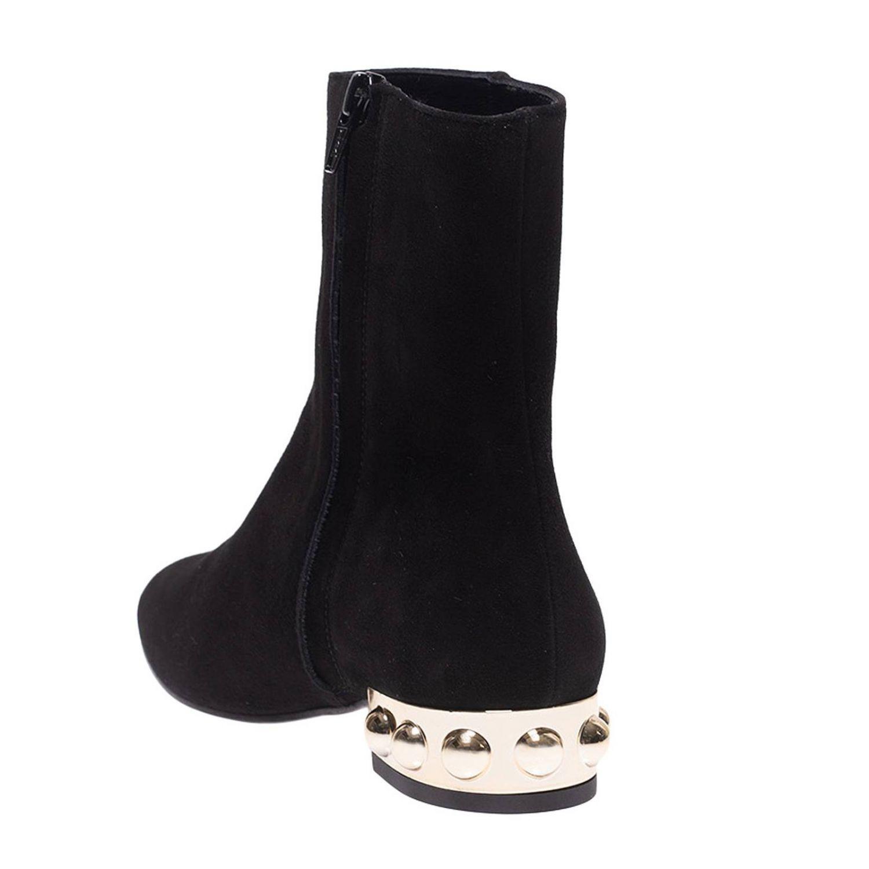 Bottines plates Marc Ellis: Chaussures femme Marc Ellis noir 4