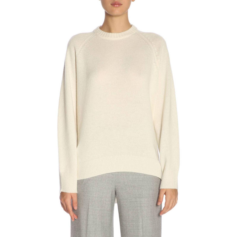 Sweater women Theory yellow cream 1