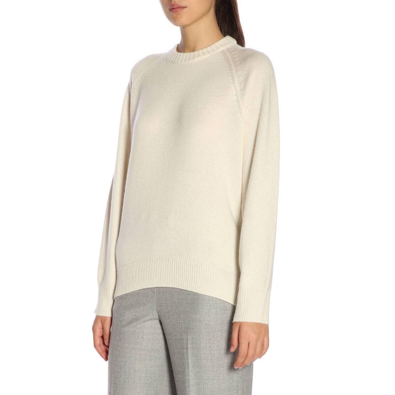 Sweater women Theory yellow cream 2