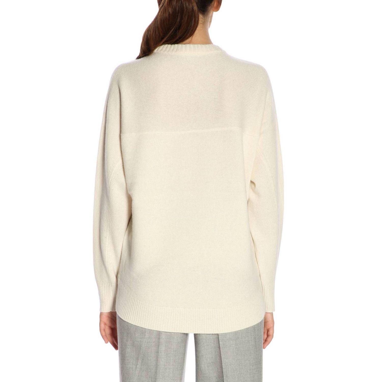 Sweater women Theory yellow cream 3