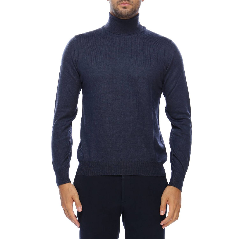 毛衣 男士 Tagliatore 蓝色 1