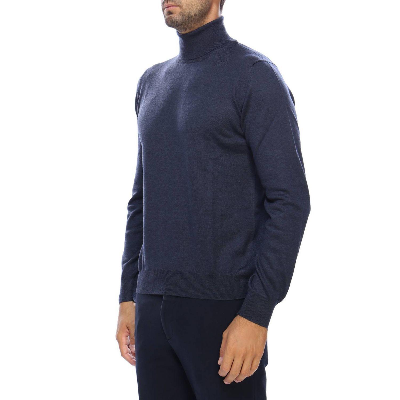 毛衣 男士 Tagliatore 蓝色 2