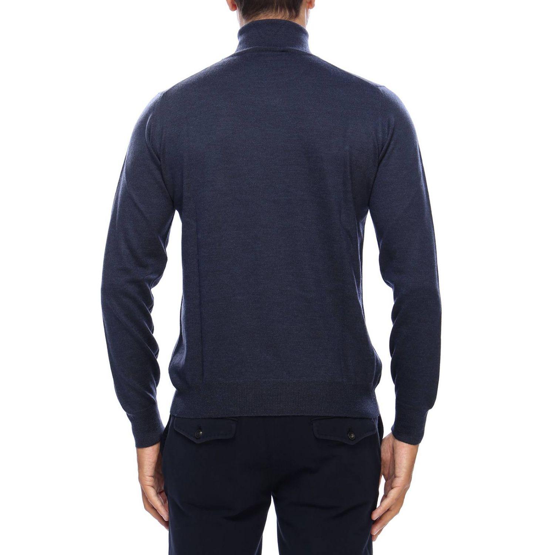 毛衣 男士 Tagliatore 蓝色 3