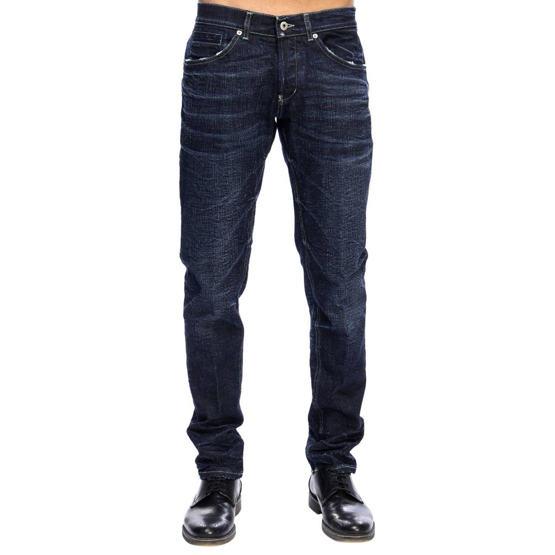 Jeans Dondup: Hose herren Dondup blau 1