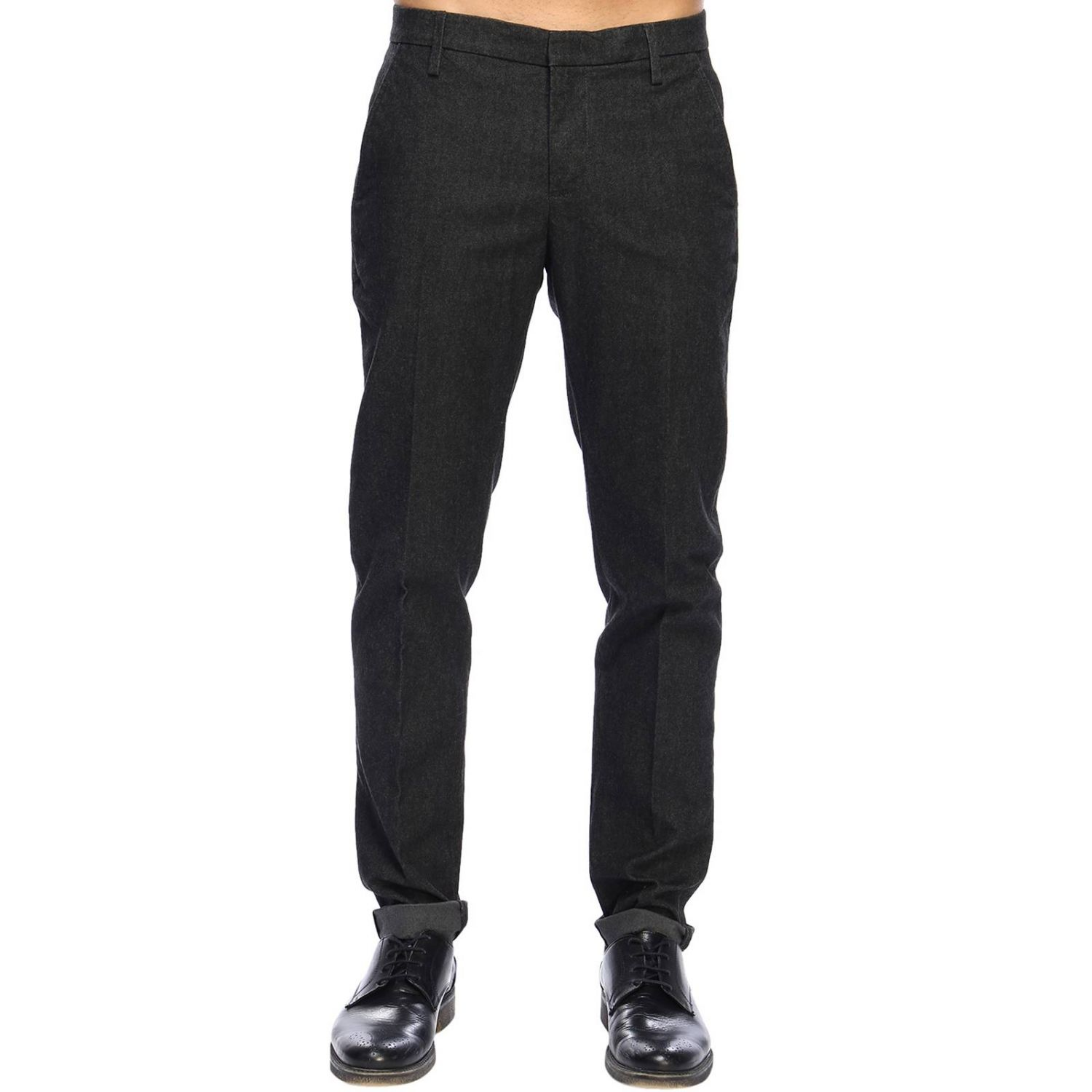 Pants Dondup: Pants men Dondup grey 1
