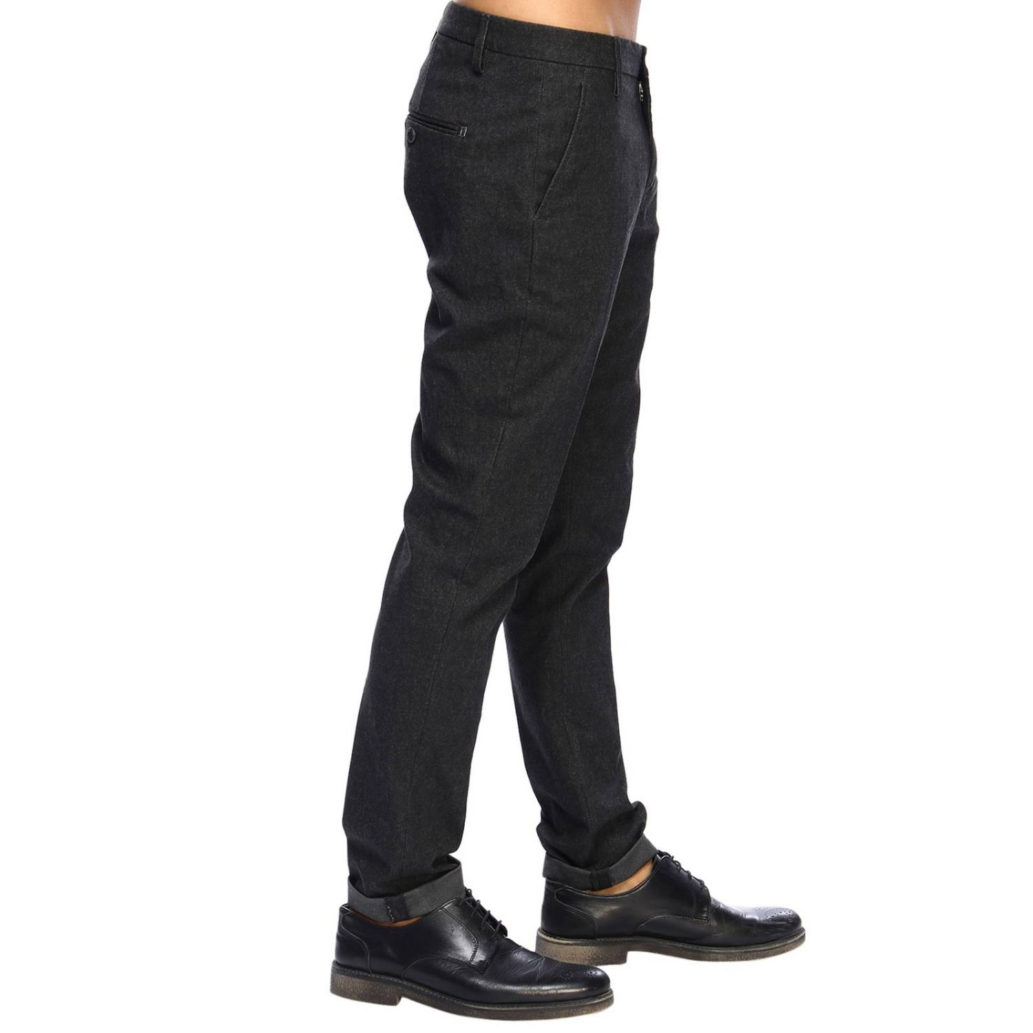 Pants Dondup: Pants men Dondup grey 2