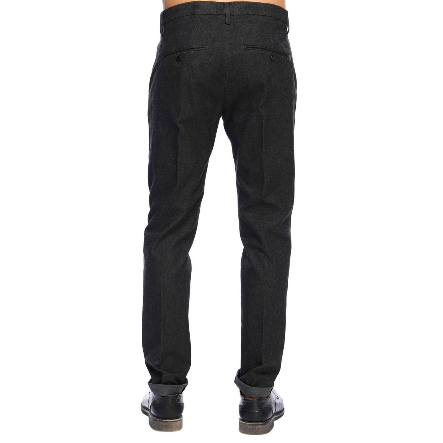 Pants Dondup: Pants men Dondup grey 3