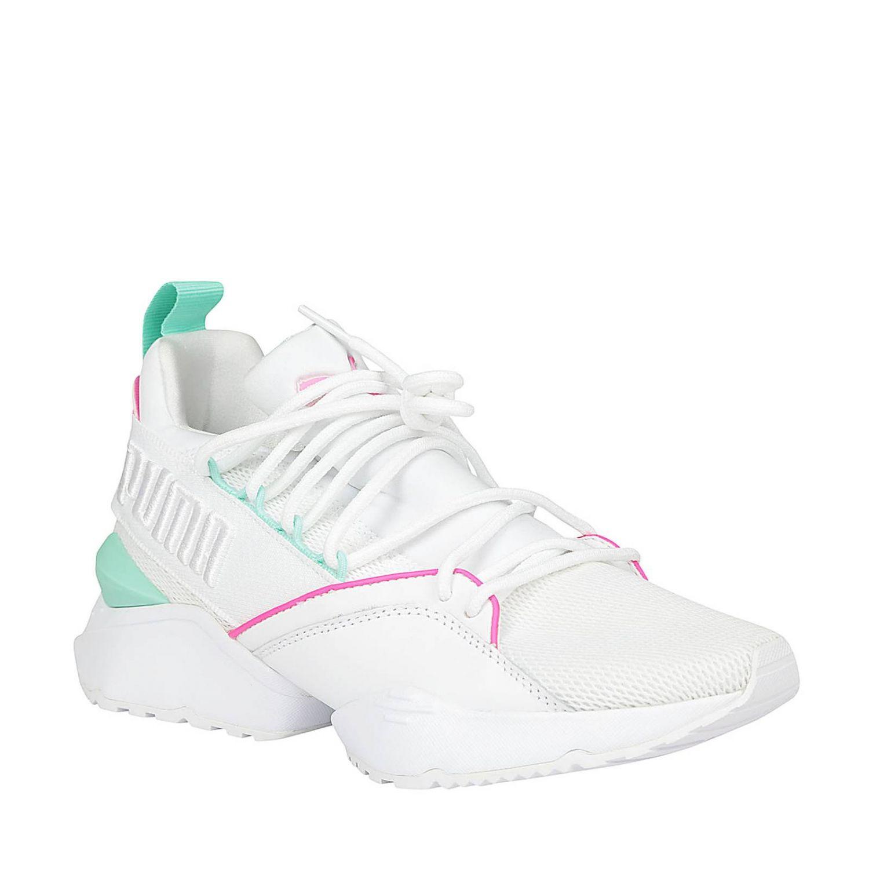 basket femme puma blanche