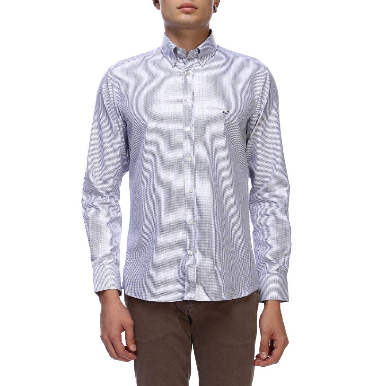 Shirt men Etro sky blue 1