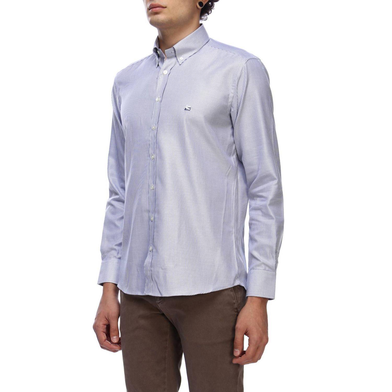 Shirt men Etro sky blue 2