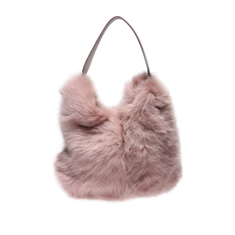 Наплечная сумка Женское Anita Bilardi розовый 1