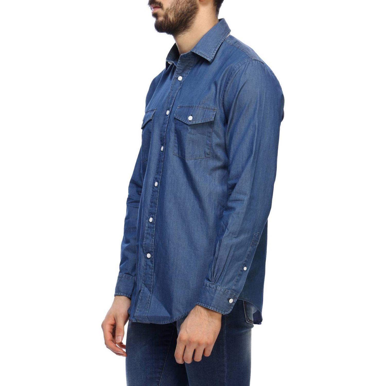 Рубашка Мужское Brooks Brothers серо-бежевый 2
