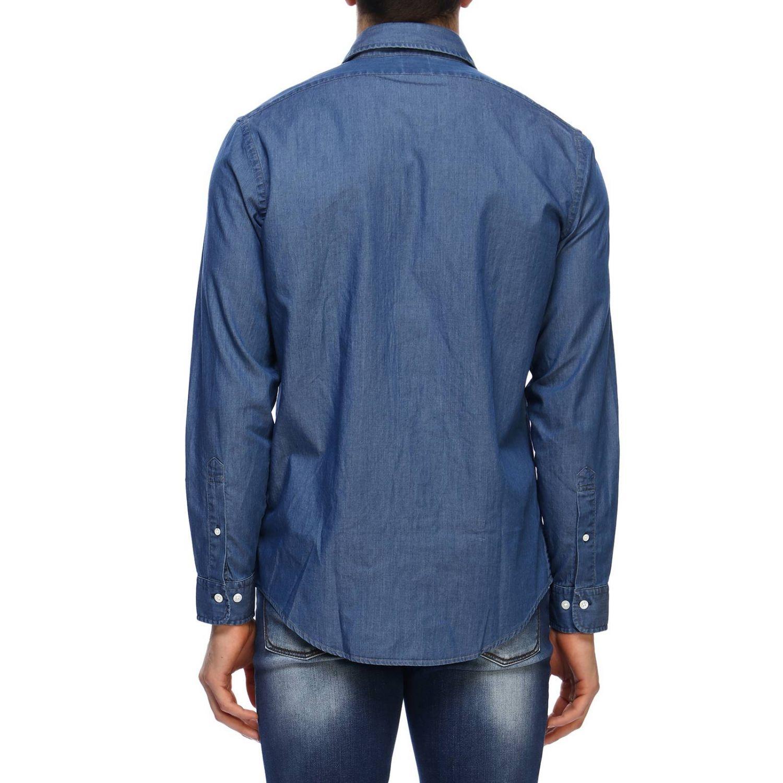 Рубашка Мужское Brooks Brothers серо-бежевый 3