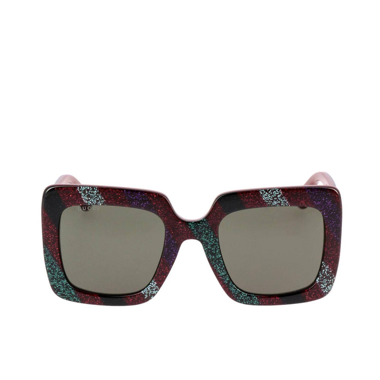Glasses Gucci: Sunglasses women Gucci black 2