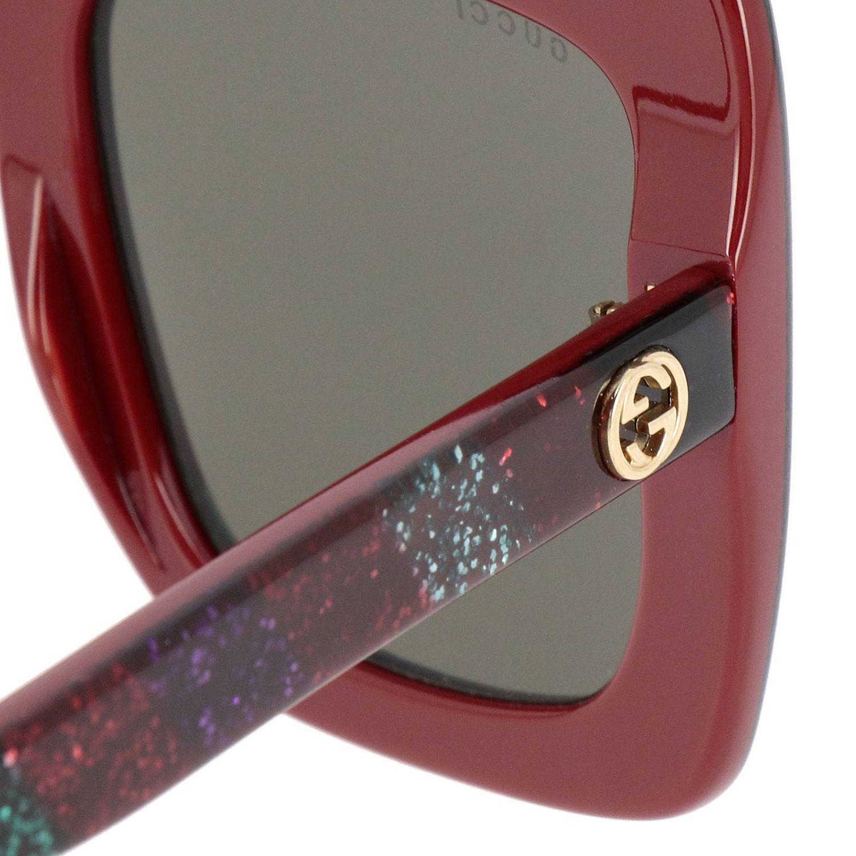 Glasses Gucci: Sunglasses women Gucci black 3