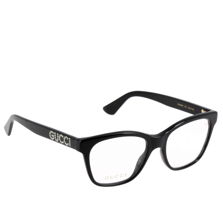 Glasses Gucci: Sunglasses women Gucci white 1