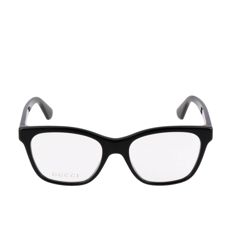 Glasses Gucci: Sunglasses women Gucci white 2