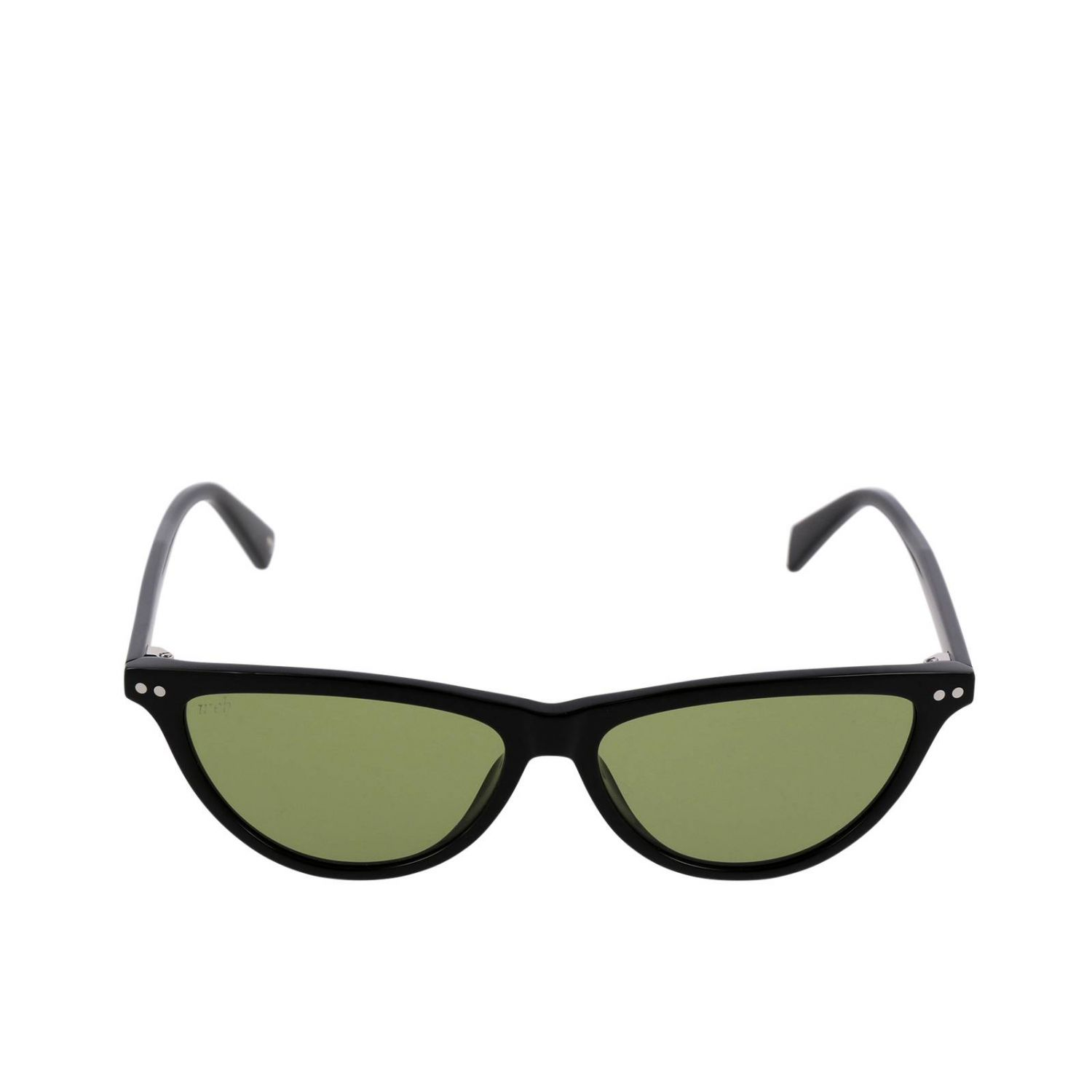 Sunglasses women Web acid green 2